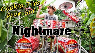 Download Avenged Sevenfold -Nightmare [Drum Cover : กลองคุกกี้ ] LowCost Drummer