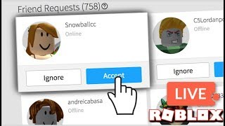 GIVING OUT MY LAST FEW FRIEND SPOTS, DORITOS FOR DARES! / Roblox / The Insomniacs Stream #554