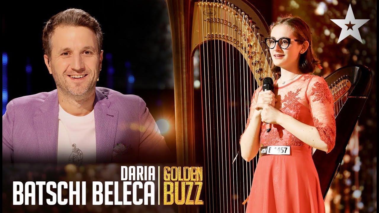 Românii au talent 2021: Daria Batschi-Beleca l-a convins pe Andi Moisescu să apese pe Golden Buzz