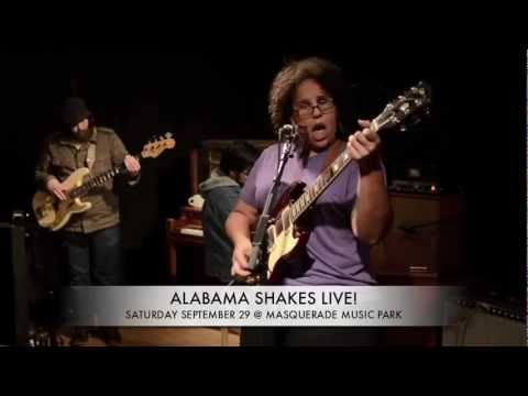 ALABAMA SHAKES Live In Atlanta - Masquerade Music Park Sat. Sept. 29