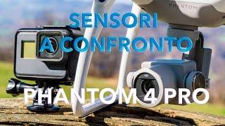 SENSORE Phantom 4 PRO: caratteristiche e TEST APPROFONDITO!