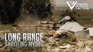 Long Range Shooting Myths