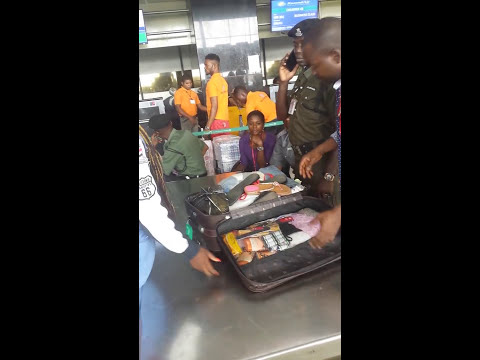 MMIA Lagos Check in Counter Embarrassment