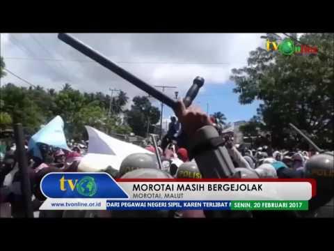 MOROTAI, MALUT   MOROTAI MASIH BERGEJOLAK
