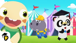 Come hangout and have some fun with Dr. Panda and Toto at the Panda city's funfair! Dr. Panda lost Toto, follow him on his quest looking for Toto, and learn ...