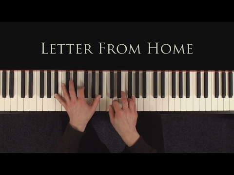 Letter  From Home - Pat Metheny - Piano Tutorial