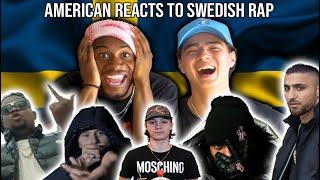 AMERICAN FIRST REACTION TO SWEDISH RAP!! Ft. Einar, Greekazo, Adel, Dree Low, Dizzy