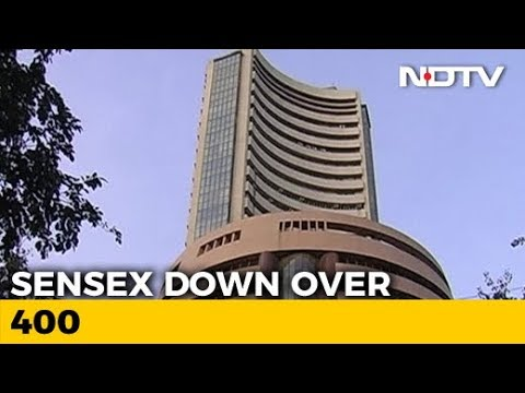 Sensex Opens 400 Points Down, Nifty Falls Below 10,000 Points