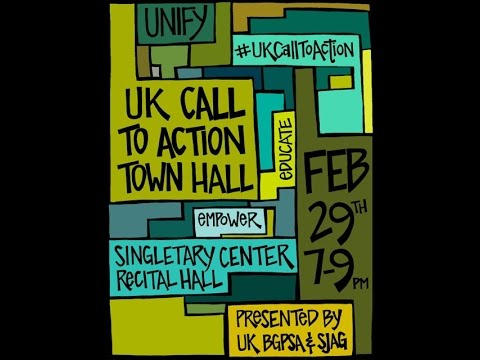 UK Call To Action Town Hall Event