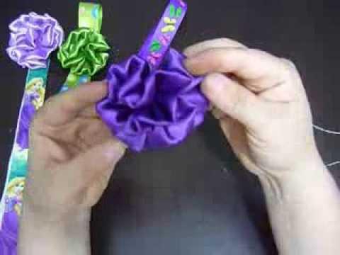 Como hacer flor elegante con tela how to make elegant flower with fabric youtube - Como hacer manualidades con tela ...