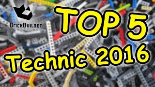 Top 5 Lego Technic 2016 - Speed Build For Collectors