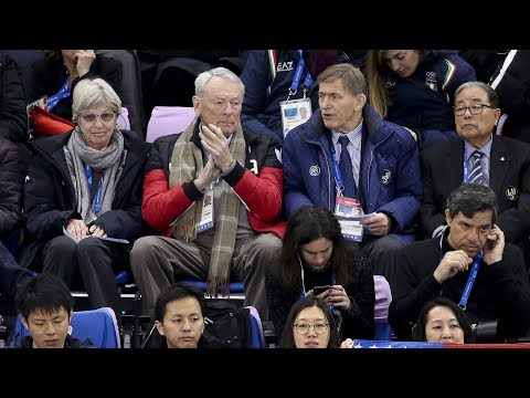 Int'l Skating Union chief oversees major skating events in Winter Games