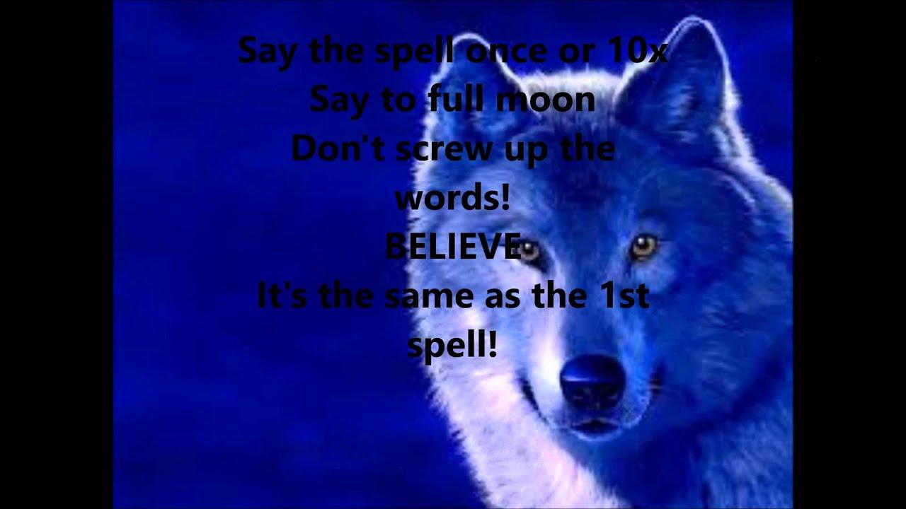 Real Werewolf Spells That Work Instantly
