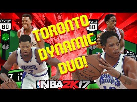 NBA 2K17 MyTeam - Dynamic Duo Kyle Lowry & Demar DeRozan - Another Raptor steals the show!