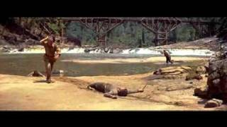 The brigde on the river Kwai ending