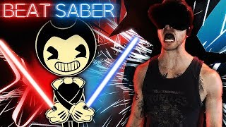 BENDY AND THE INK MACHINE SONGS?! | Beat Saber VR Expert Level Gameplay!