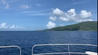 Caribbean Moment: On the Sea in the BVI