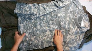 Military mix DE- микс одежды милитари (военная) герм 4пак 10.6кг 9.20€/кг 14шт