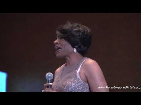 Anita Brown Spoken Word at Texas Unsigned Artists Red Carpet Gala