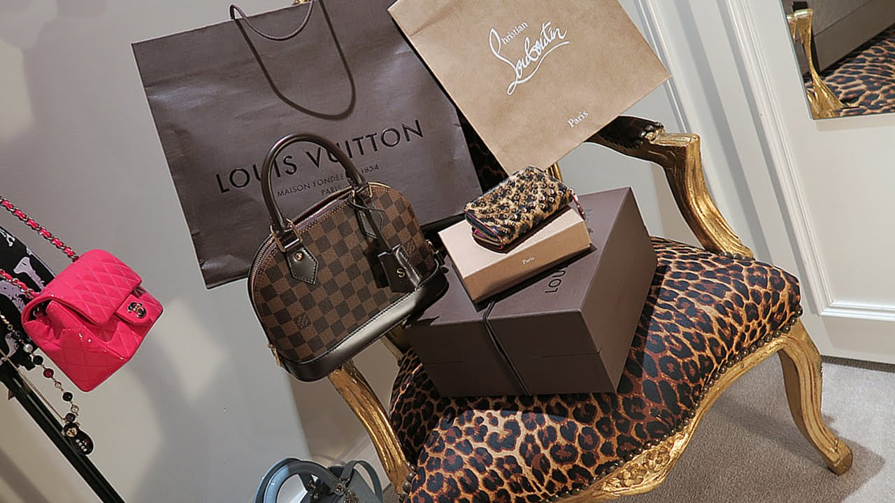Luxe Haul Louis Vuitton Christian Louboutin Unboxing
