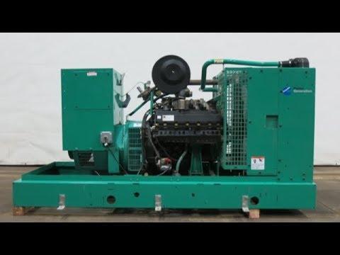 Cummins 85 kW natural gas generator, 480V, Yr 2002 - CSDG # 2243