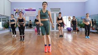 Избавьтесь от жира на животе + Маленькая талия + Плечо + Руки + Бедро   35 минут тренировки