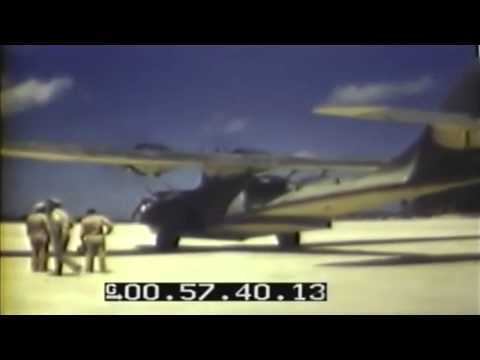 Bob Hope Lands At Mullinix Field, Bonriki Island, Tarawa Atoll (full)