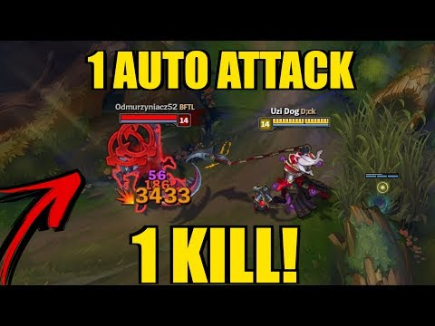1 ATTACK = 1 KILL!! Full Crit and Lethality THRESH! [ League of Legends ]