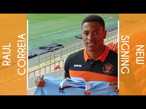New Signing | Raul Correia