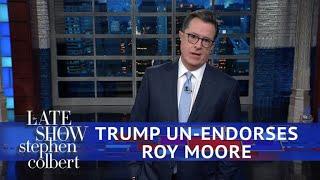 �������� ���� Trump Walks Back His Roy Moore Endorsement ������