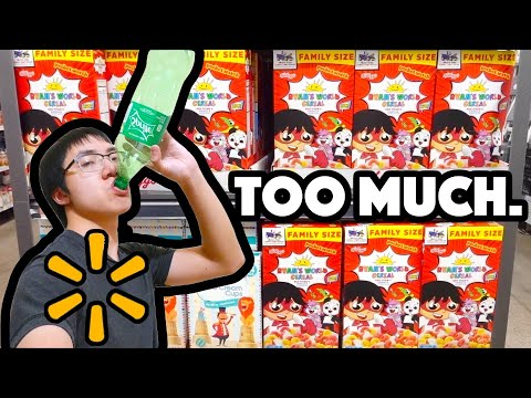 "TAKING A SHOT EVERY TIME I SEE ""RYAN TOYSREVIEW"" IN WALMART - PlainrockVlogs"