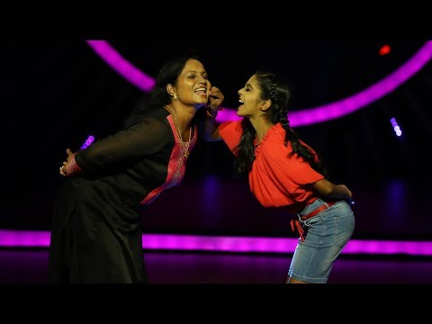D4 Junior Vs Senior I Love you mummy by Isha I Mazhavil Manorama