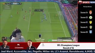 VFL Season 35 - SGERRARD sends AS Roma to the Semi Finals