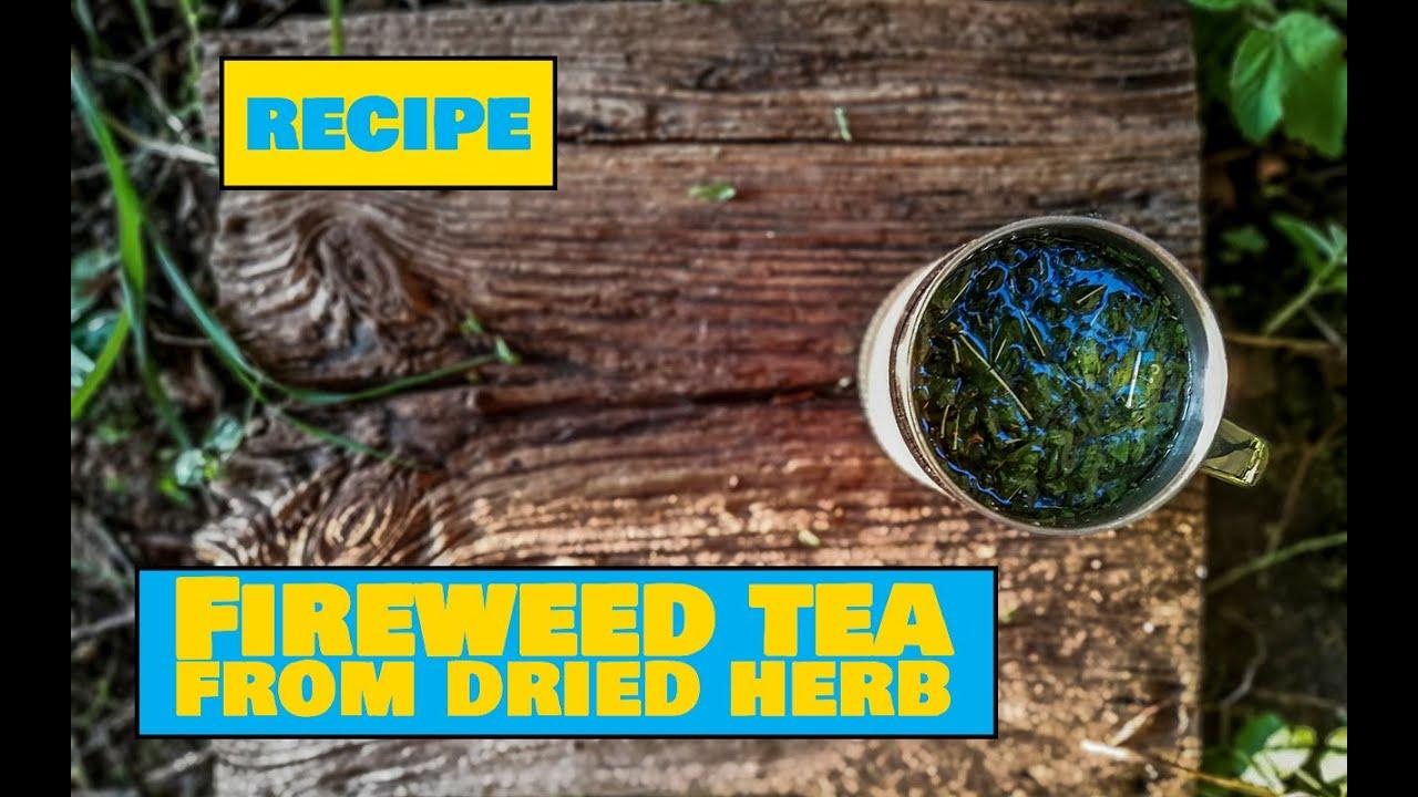 How to Make Fireweed Tea / Põdrakanepi tee - Easy Outdoors Cooking
