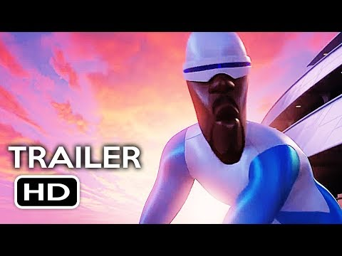 Incredibles 2 Official Trailer #4 (2018) Disney Pixar Animated Kids Movie HD