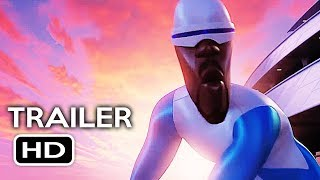incredibles 2 official trailer 4 2018 disney pixar animated kids movie hd