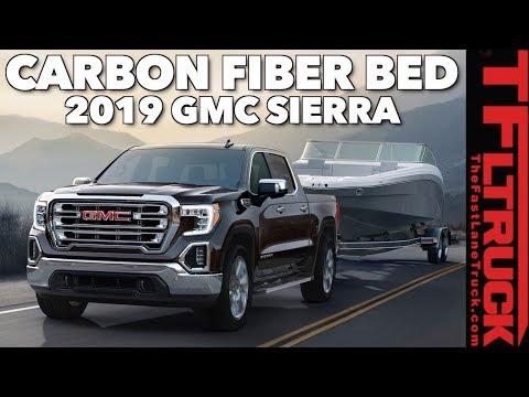 Breaking News: 2019 GMC Sierra 1500 Gets CarbonPro Bed and Diesel Power!