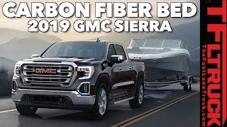 Breaking News: 2019 GMC Sierra 1500 Gets CarbonPro Bed and Diesel Power!