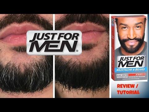 JUST FOR MEN beard color JET BLACK