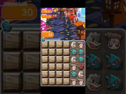 [Pokemon Shuffle] UX Stages 21-24