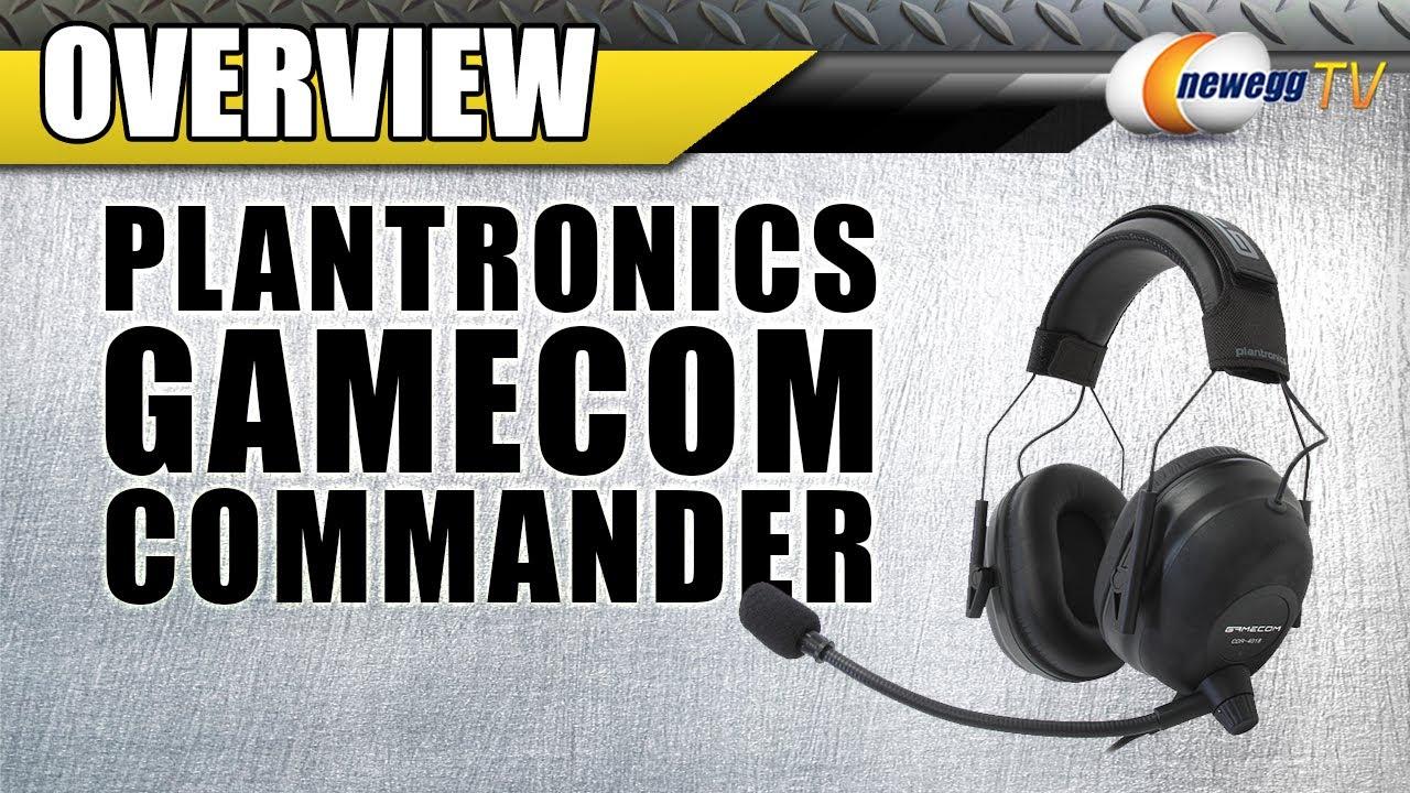 Plantronics Gamecom Commander Gaming Headset Overview Newegg Tv Youtube