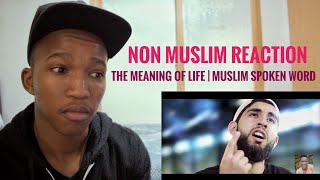 Non Muslim Reaction on THE MEANING OF LIFE | MUSLIM SPOKEN WORD | Lwazi Sbu