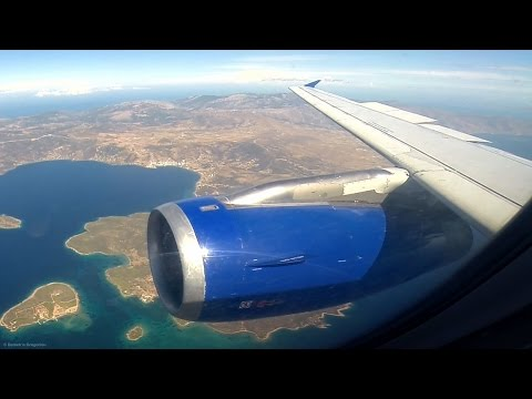 Cyprus A320 - FULL Descent, Approach and Landing at Athens LGAV - Taxi & Shutdown - CYP304