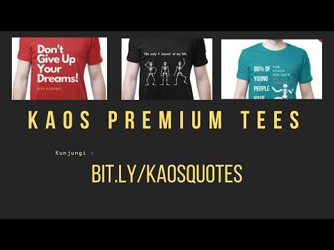 Premium Baju Kata Kata Keren Baju Kata Kata Lucu Kaos