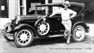 The Land of My Boyhood Dreams by Jimmie Rodgers (1929)