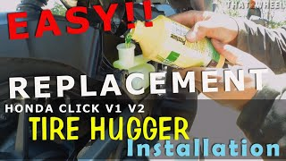 Honda Click V1 V2 / Game Changer Tire Hugger Replacement /Installation : OEM
