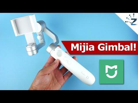 Xiaomi Mijia Smartphone SJYT01FM Gimbal Review & 4K Samples!