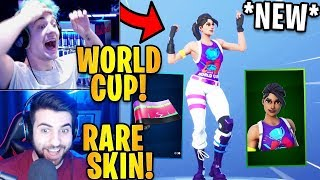 Streamers Réagir à la Coupe du Monde 'NEW'2019 Peau ' Wrap ' Revel Dance! Faits saillants de Fortnite