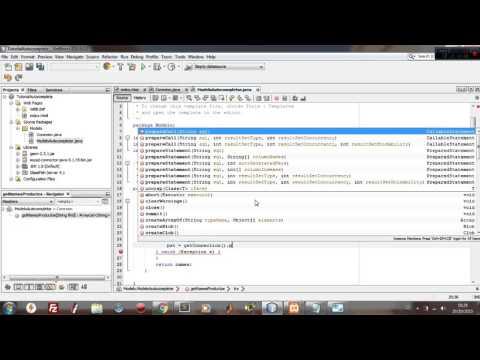 Crear un input Auto Completado con JSP Y AJAX