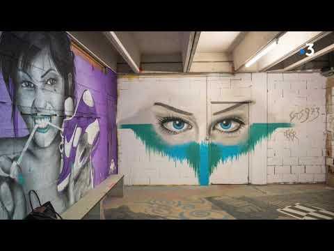 Besançon : le street art au service de l'apprentissage au CFA Hilaire de Chardonnet - - France 3 Bourgogne-Franche-Comté